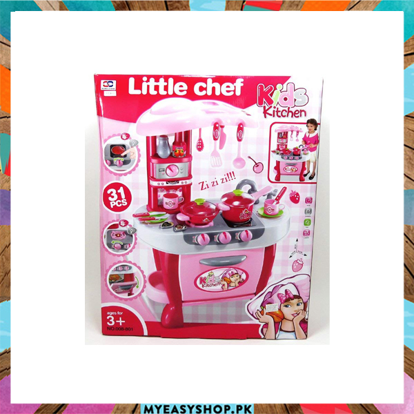 Buy Little Chef Kids Kitchen Deluxe Kitchen Cook Play Set Best And