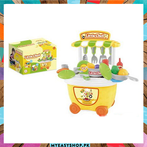 Buy Kids Pretend Play Little Chef Kitchen Toys Set 29 Pcs Best And