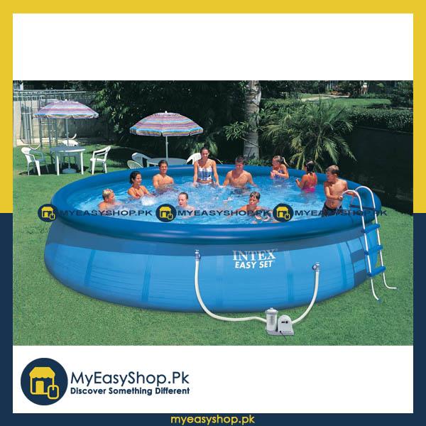 Buy Intex The Swimming Pool Easy Set Pool 18 Feet 56417 Best And Good Price In Pakistan